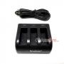 Smatree Triple charger Hero7,6,5 set mini