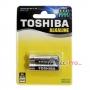 Toshiba Alkaline AAA แพค 2 ก้อน