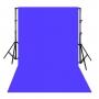 ผ้าฉากสีน้ำเงิน ไซส์ M (180 x 270 cm)