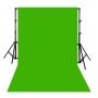 ผ้าฉากสีเขียว ไซส์ XL (300x600 cm)